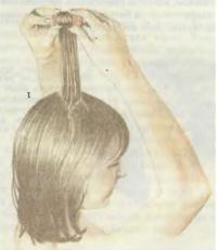 1. Выделение пряди