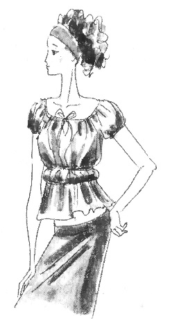 Многообразие стилей женской одежды: стиль ампир