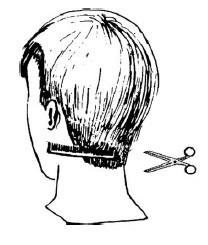 Можно ли коротко подстричь затылок без специальных инструментов?