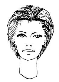 Универсальная короткая стрижка для женщин и мужчин (короткий затылок)