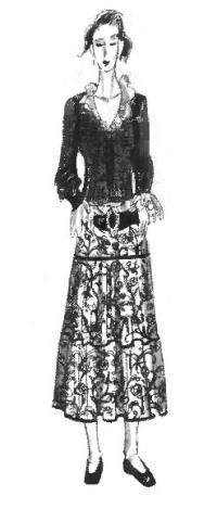 Многообразие стилей женской одежды: фолк-стиль
