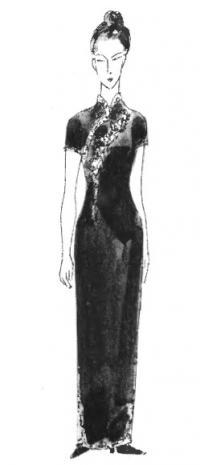 Многообразие стилей женской одежды: китайский стиль