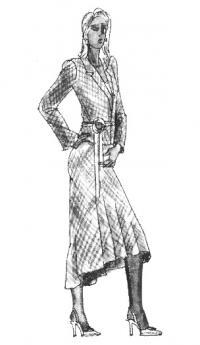 Как сочетать разные стили одежды: классический и романтический стиль