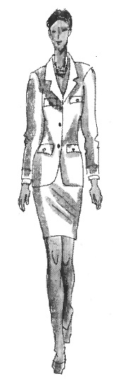 Многообразие стилей женской одежды: стиль «Шанель»