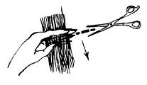 Можно ли сделать филировку простыми ножницами?