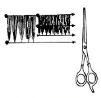 Зачем прореживать волосы и как это сделать простыми ножницами?