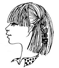 Сколько волос можно пустить на челку?