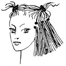 Как сделать, чтобы волосы в стрижке были одинаковой длины или, наоборот, разной?