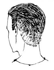 Короткие мужские стрижки: полубокс