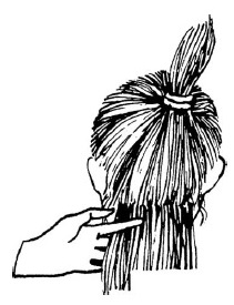 Как стричь пряди, чтобы в результате получилась одна общая линия среза для всех волос?