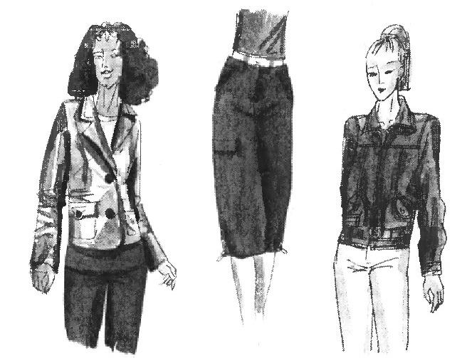 1d5c15a1480 Многообразие стилей женской одежды  спортивный стиль (Мода ...