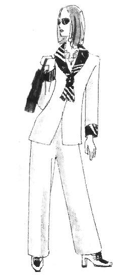Многообразие стилей женской одежды: морской стиль