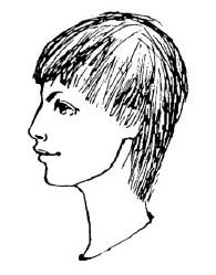 Мальчишеская стрижка на негустые волосы