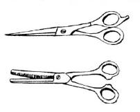Какие ножницы нужны для стрижки в домашних условиях?