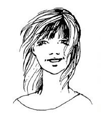 Как подстричь челку тем, кто носит волосы на прямой или косой пробор?