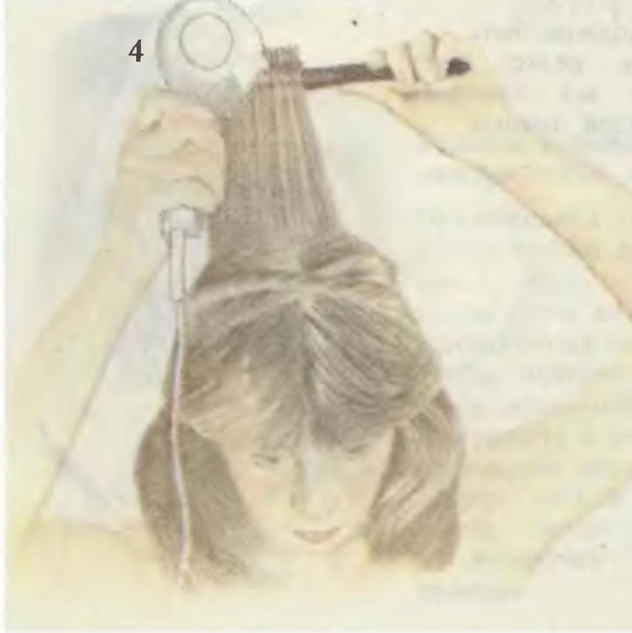 4. Объединение прядей