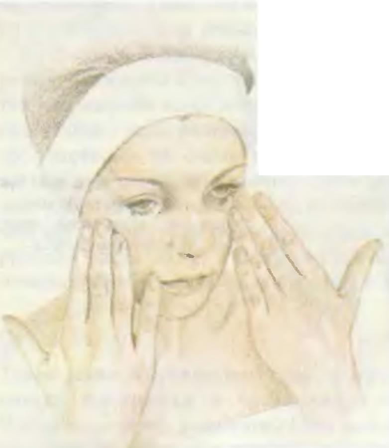 4. Увлажнение кожи щек
