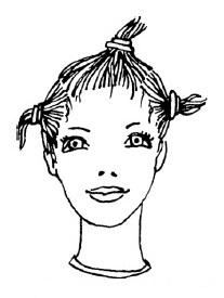 Как разделить волосы на голове, чтобы удобно было их стричь?