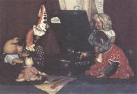 Александр Лактионов. Натурморт с игрушками. 1948