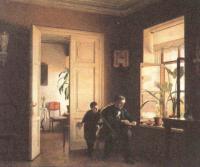 Алексей Бобров. В комнатах. 1870-е