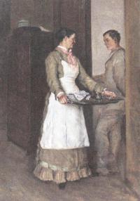 Алексей Корзухин. В комнатах. 1880-е