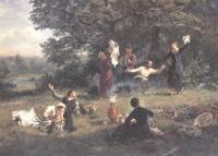 Алексей Корзухин. Воскресный день. 1884