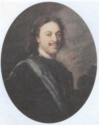 Андрей Матвеев. Портрет Петра I