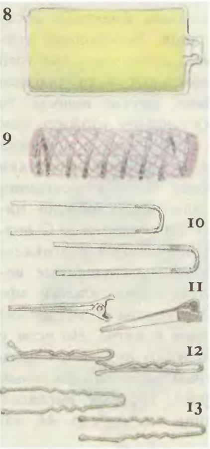 Бигуди, заколки и шпильки