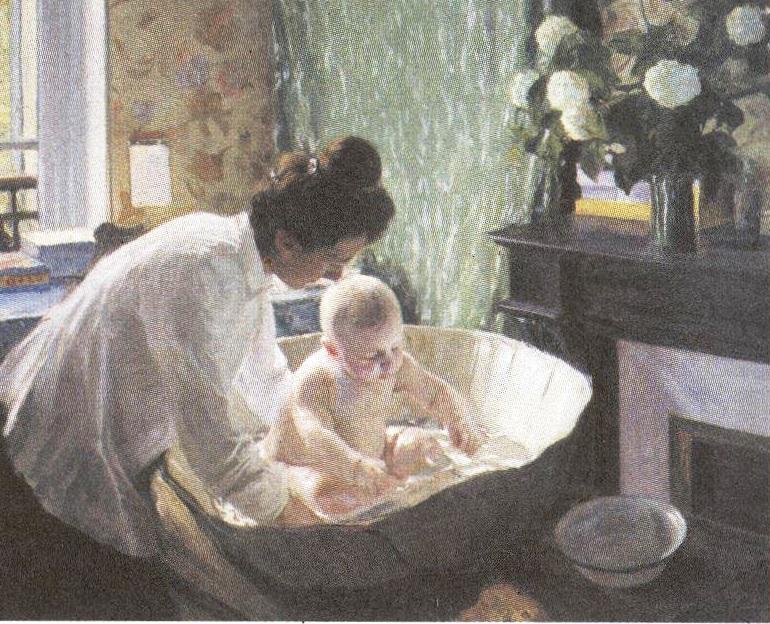 Борис Кустдиев. Утро. 1904