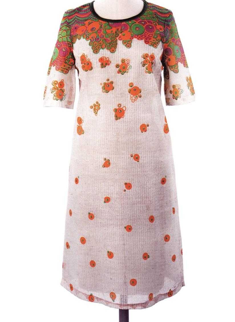 Целлюлозное платье с украшение Happy Bubble (Оззи Кларк и Селия Бертвелл)