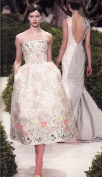 Дебютная коллекция Р. Симонса в доме Dior