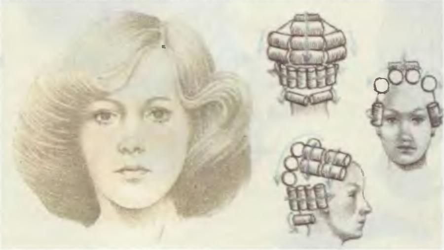 Для более пышных и волнистых волос