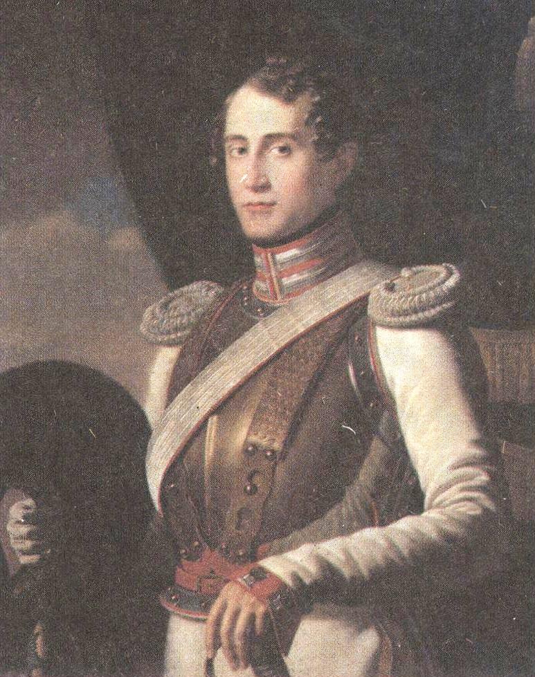 Дмитрий Антонелли. Портрет А.Н.Арапова. 1829