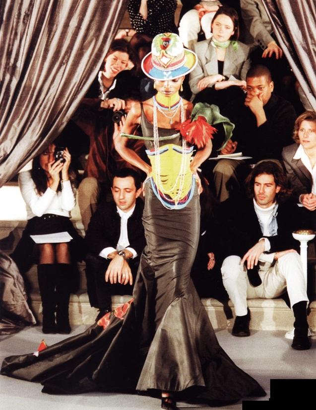 Эклектическое платье от Джона Гальяно (Christian Dior, 1997)