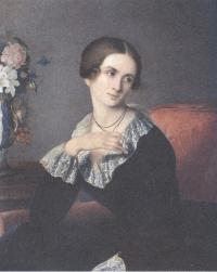 Евгений Плюшар. Потрет неизвестной. Около 1809