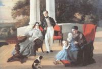Евграф Сорокин. Семейный портрет. 1844