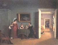 Фёдор Толстой. Семейный портрет. 1830