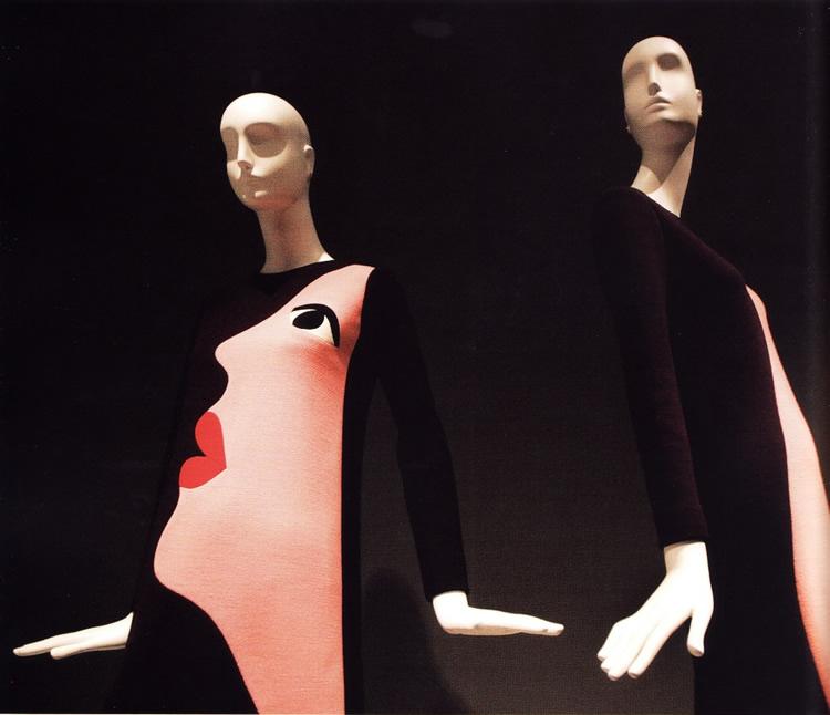 Фигуральные аспекты поп-арта в платье от Ив Сен-Лоран (1965)