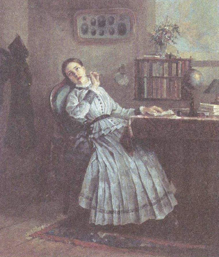 Фирс Журавлев. Замечталась. 1884