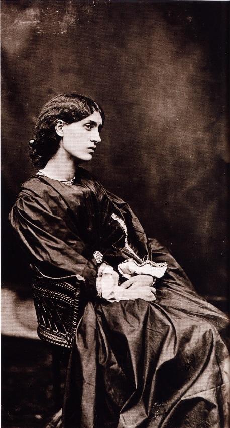 Фотография Джейн Верден (работа Джон Р. Парсонса 1868года)