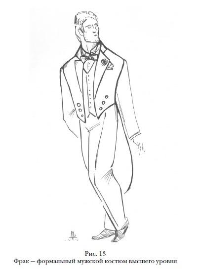 Фрак - формальный костюм высшего уровня 1541d0eab4541