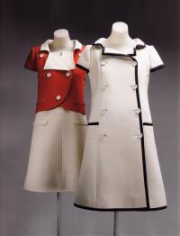 Футуристическое платье-пальто Андре Куррежа