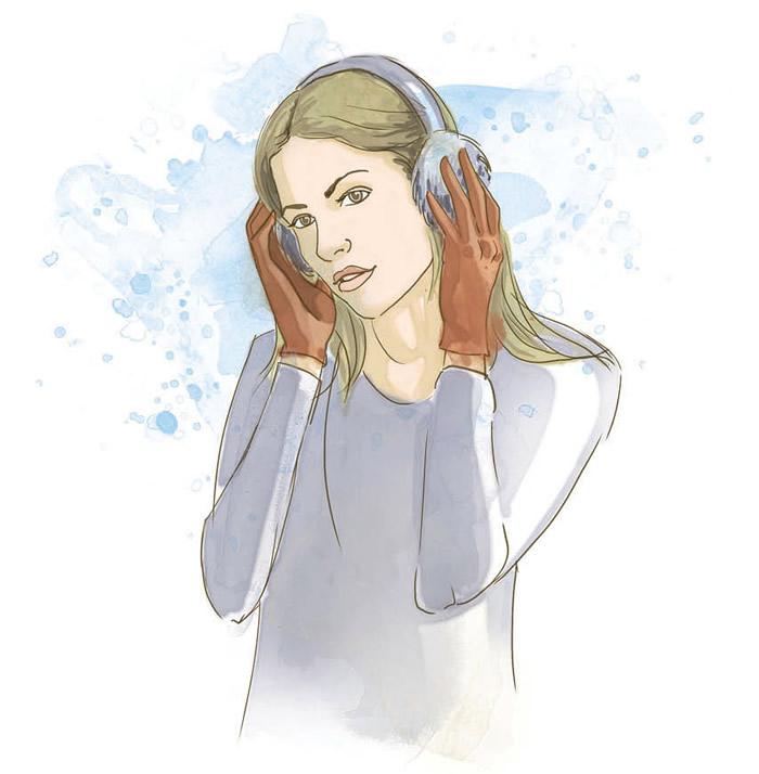 Гаушники для обогрева ушей
