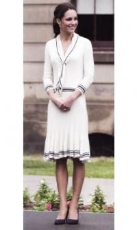 Герцогиня Кембриджская в платье Alexander McQueen