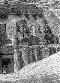 Храм в скале в Абу-Симбеле