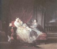 Христина Робертсон. Великая княгиня Мария Николаевна с детьми - Марией, Евгенией, Николаем, Евгением