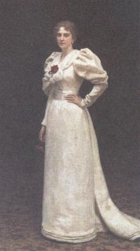 Илья Репин. Портрет Л.П.Штейнгель. 1895