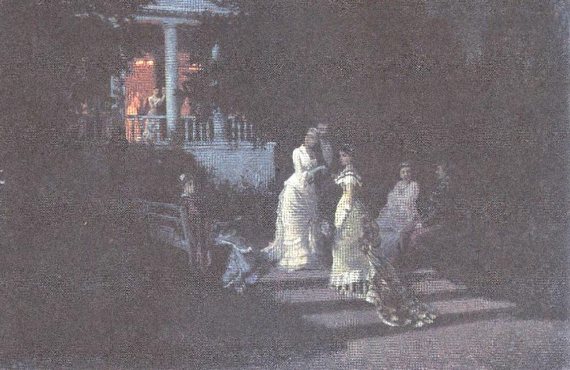 И.Светенко. Бал. 1897