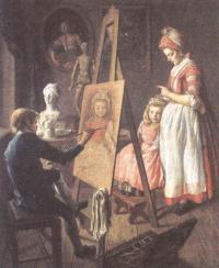 Иван Фирсов. Юный живописец. Между 1765 и 1768