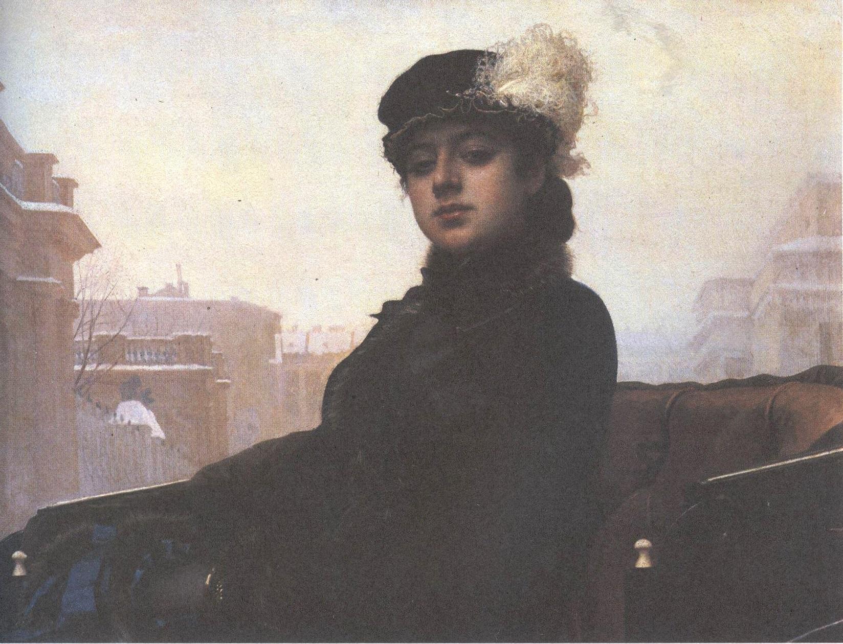 Иван Крамской. Неизвестная. 1883
